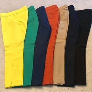 Banana Republic Sloan Fit ankle pants in 0P.